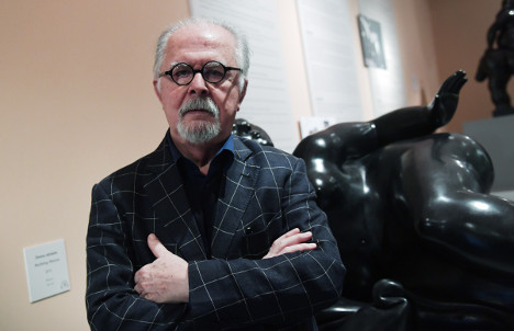 Two suspects charged over France theft of Botero statue