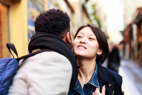 French kissing: Where does the custom of 'la bise' come from?