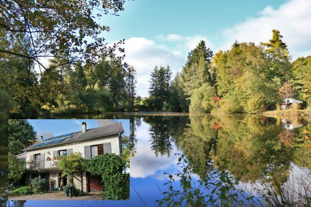 French property of the week: Stunning lakeside house in the Dordogne