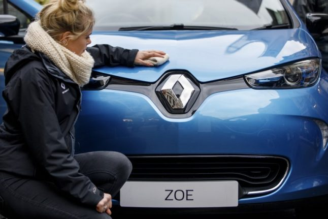 French carmaker Renault prepares for when drivers will be able to read at the wheel