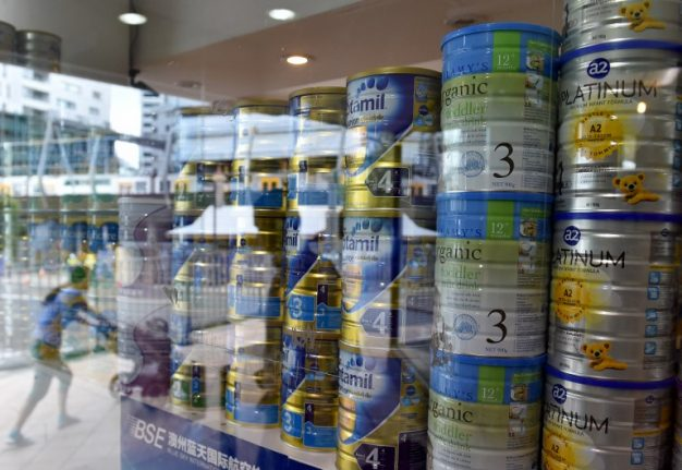 New recall of French baby milk over salmonella fears