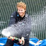 Gabart, the record breaking French sailor in a hurry
