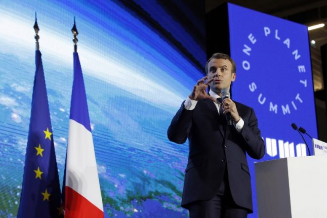 Macron offsets Trump by opening arms to US climate change scientists