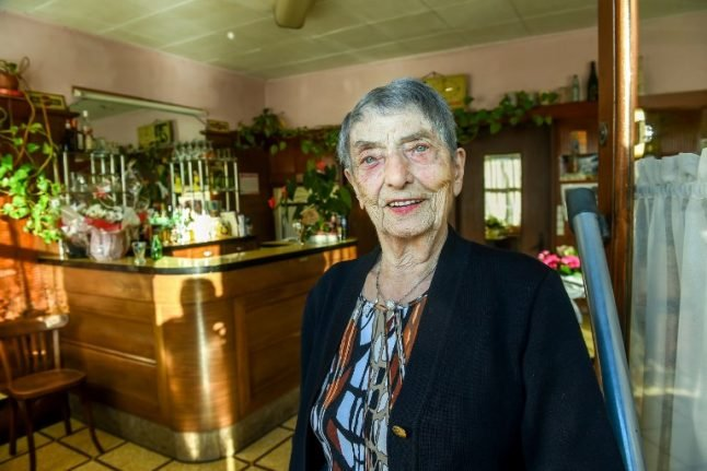 Meet the 100-year-old French barmaid (who starts each morning with a brandy)