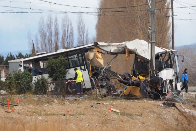 Deadly French school bus crash: Driver charged with manslaughter