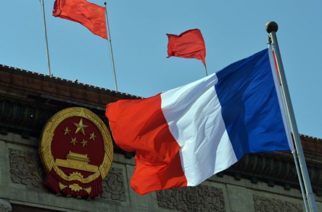 Frenchwoman incommunicado in China after painting tribute to democracy activist