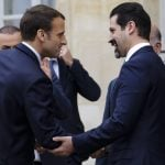 Macron calls for 'dialogue' in Iraq and dismantling of militias