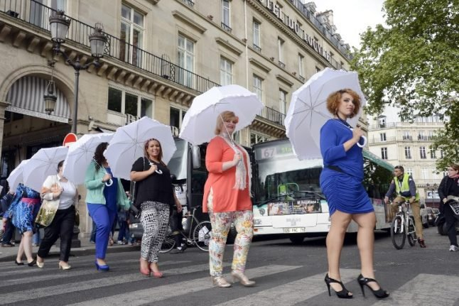 """Paris to hold first """"anti-grossophobia"""" day to fight discrimination against fat people"""