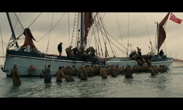 Student scores video hit by matching Dunkirk archive pics with scenes from blockbuster movie