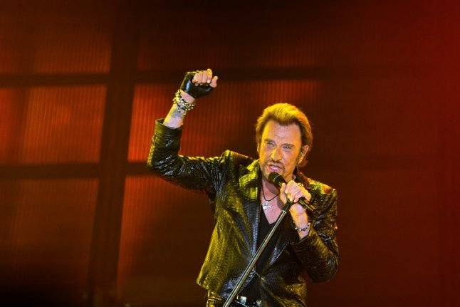 France in mourning as king of rock Johnny Hallyday dies aged 74
