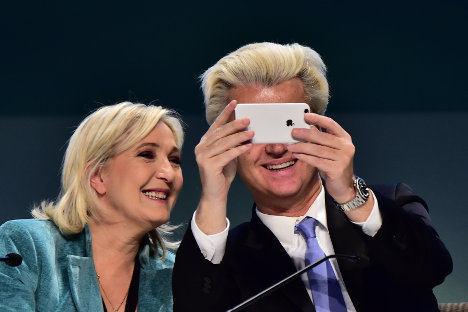 Le Pen, Wilders to meet European far-right leaders amid protests