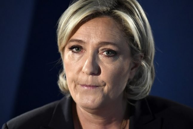 Struggling Marine Le Pen insists: 'I'm not going anywhere'