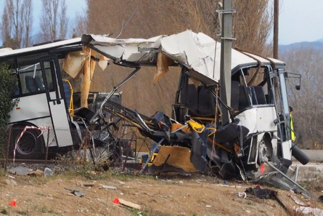 What we know about deadly crash between French school bus and train