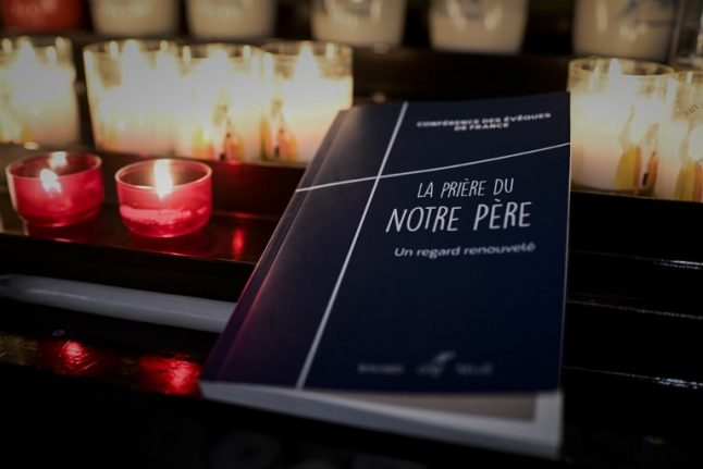 French churchgoers to recite new version of the Lord's Prayer