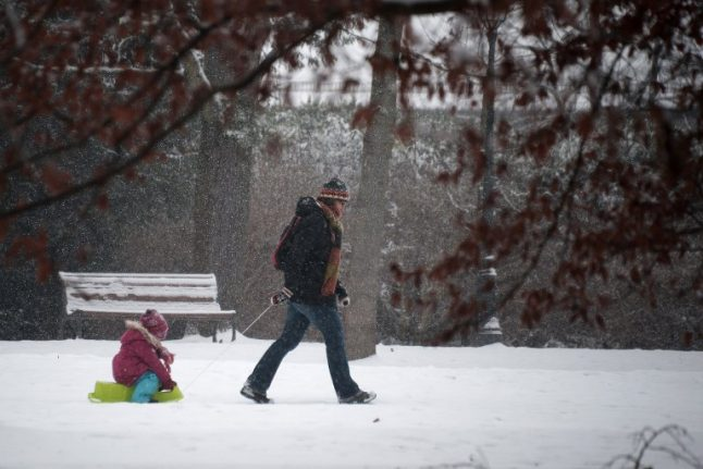 UPDATED: Parts of France placed on alert for snow and ice