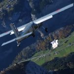 VIDEO: Two French wingsuit flyers pull off death-defying stunt by landing in plane mid-air