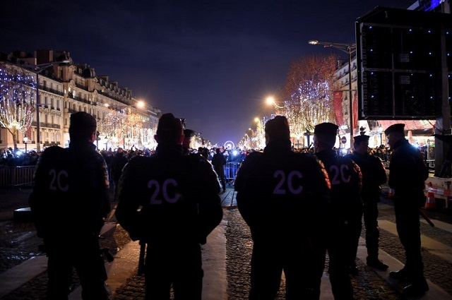 Over 1,000 cars torched across France as New Year's Eve arrests rise