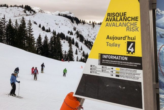 French Alps on red alert as avalanche threat reaches 'exceptional' level