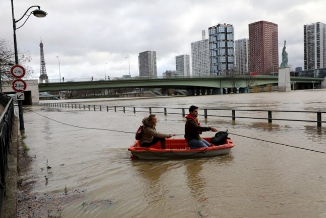 LATEST IMAGES: Paris floods as River Seine rises to new heights