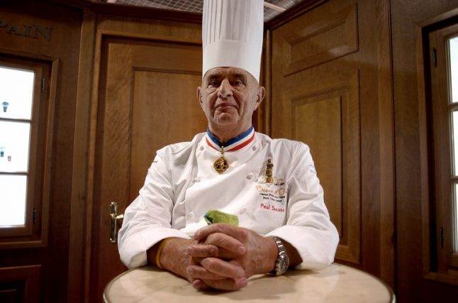 1,500 chefs gather for farewell to France's Paul Bocuse