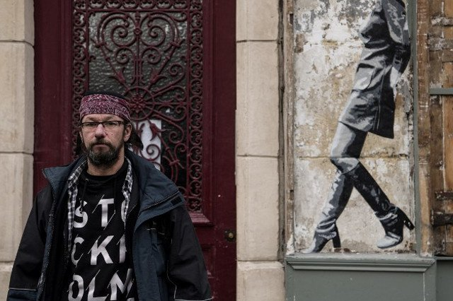 Down but not out in Paris: French homeless man becomes social media sensation