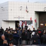 French prison unions vote to press on with strike