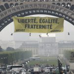 Greenpeace activists face fine over Eiffel Tower protest