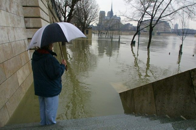 Parisians warned as level of River Seine continues to rise