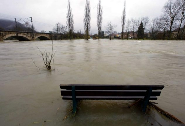 France floods: Red alert warnings issued as river levels rise