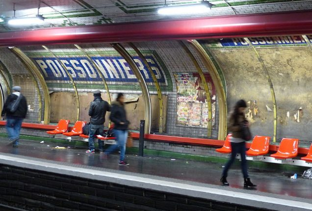 Paris Metro drivers not stopping at stations to avoid crack-fuelled violence