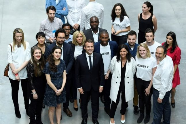 France has not changed, Macron's just made it look great again, says tech giant