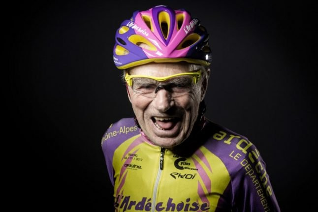 France's 106-year-old record-breaking cyclist finally hangs up his helmet