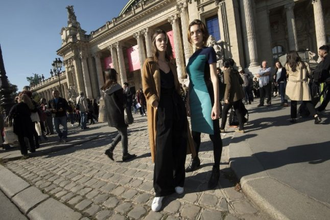 French spend far less on fashion than Brits and most other Europeans