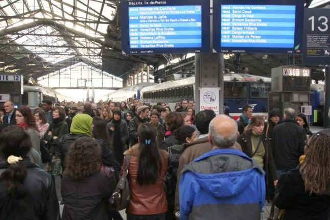 'Scandalous': Paris rail commuters told to expect eight more years of misery