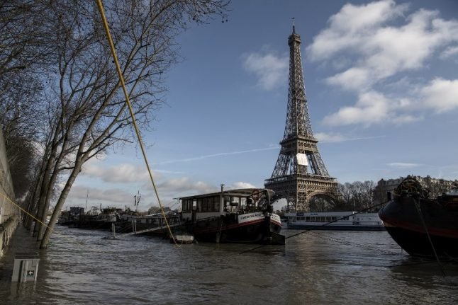 Paris braces for another week of flooding as River Seine rises