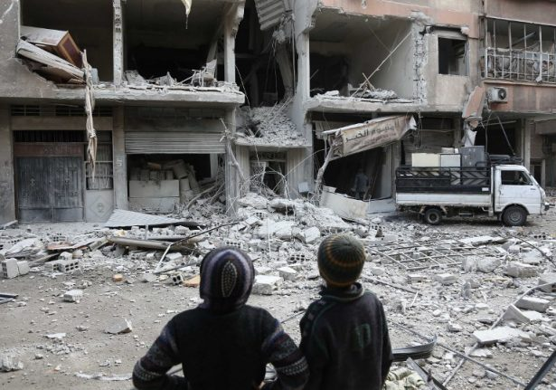 France calls for UN Security Council meeting over Syria