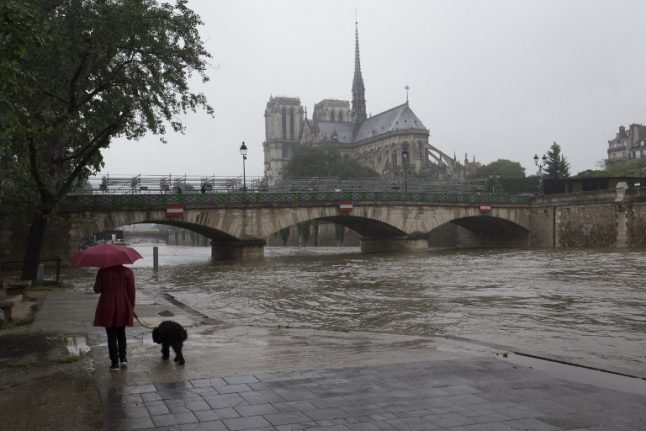 Paris: Policewoman missing after being swept away in River Seine