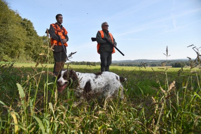 Hunters drafted in to back up police in French countryside