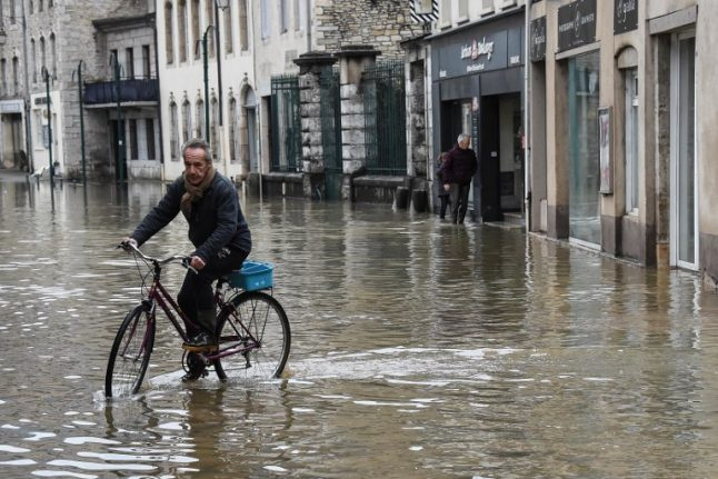 Flood waters rise across much of France (and more rain is coming)