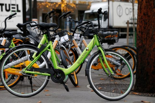 Have your say: Should Paris put the brakes on invasion of dockless bikes?
