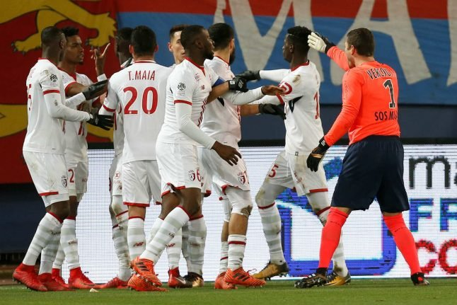 French goalkeeper sent off after 'robot dance' fury