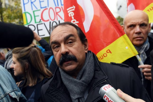 French trade union chief slams UK and US over lack of workers' rights