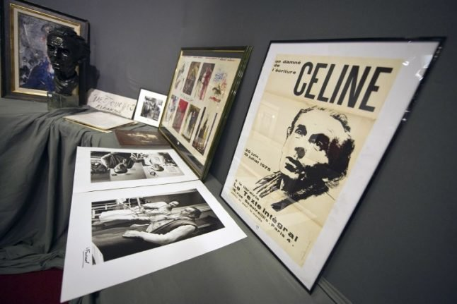 Row erupts over revered French novelist's anti-Semitic pamphlets