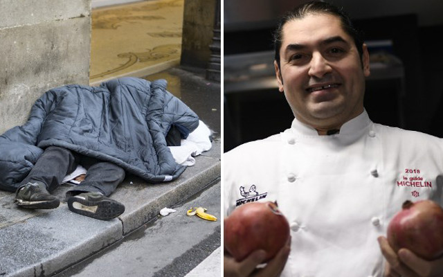 How a homeless Paris dishwasher became a Michelin-starred chef