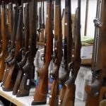 Hundreds of guns, grenades, ammo seized from French sports shop owner