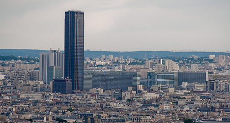 France's green party pushes for ban on Paris skyscrapers