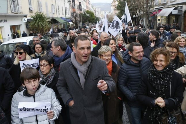 Macron heads to nationalist Corsica for high-stakes visit