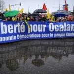 Thousands of Kurds stage protest march in France