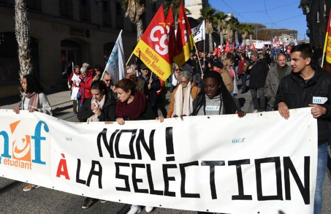 French students set to take to streets over planned school reforms