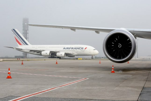 Scores of Air France flights hit by strike action